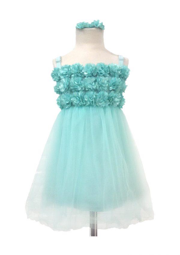 Maatkleding bloemenmeisjes jurk